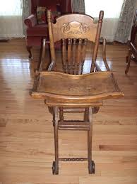 victorian era convertible stroller high chair for sale antiquescom classifieds antique high chairs wooden