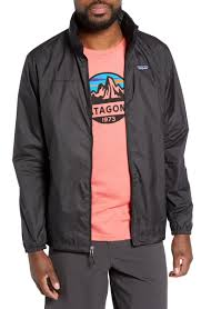 Light Variable Recycled Wind Water Resistant Hooded Jacket