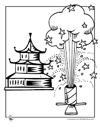 Small Picture Chinese New Year Fireworks Coloring Page Woo Jr Kids Activities