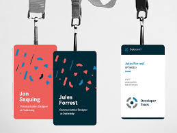 Design A Name Badge Koran Sticken Co Identity Card