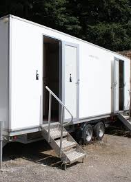 Portable Bathroom Rental VIP Restroom Trailer Powder Room Potties Mesmerizing Trailer Bathroom Rental