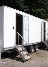 Portable Bathroom Rental VIP Restroom Trailer Powder Room Potties Mesmerizing Trailer Bathroom Rental