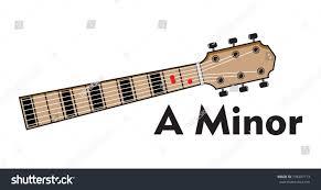 Vector Set Guitar Chord Chord Diagram Stock Vector Royalty