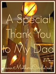 special thank you for my dad personal note to dad thanking fathers letter