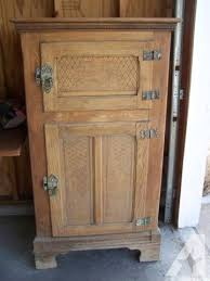 ice box for sale.  Box Antique Wood Etched Design Ice Box Refrigerator Throughout For Sale T