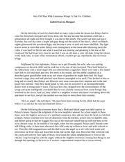 response essay to a very old man enormous wings kayla 5 pages very old man enormous wings
