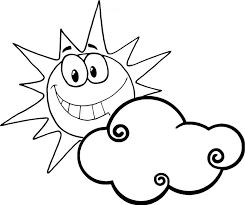 Small Picture Coloring Pages Sun Happyface Coloring Pages Happy Face Sun