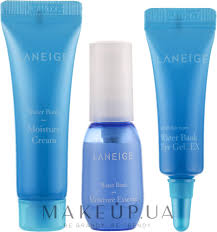 <b>Laneige Water Bank</b> Moisture Kit (essence/10ml+cr/10ml+eye/gel/3ml)