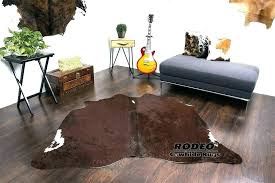 real cowhide rug size review or fake vs how to clean faux ikea real cowhide rug