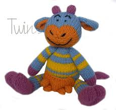 Maybe you would like to learn more about one of these? Twins Knitting Pattern Minishop Mama Moo The Dairy Knitted Cow In English