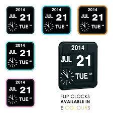 calendar flip wall clock flip wall clocks flip wall clock cult living retro square flip clock