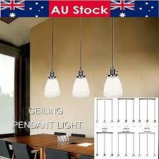 black modern loft glass ceiling lamp shade hanging industrial pendant light