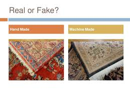 how to identify authentic oriental rugs