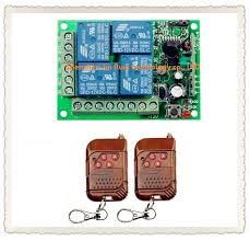 <b>315MHZ</b> 4CH DC12V Relay RF <b>Wireless</b> Remote <b>Control</b> Switch ...