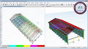 Steel Shed Design Software Free Etabs 2016 Steel Factory Structural Analysis And Design