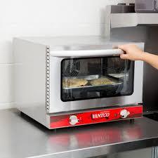 avantco 1 4 size commercial countertop electric convection oven food