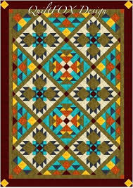 Southwest Quilt Patterns Magnificent Southwest Quilt Southwest Quilt Pattern Bear Paw Quilt Twin Full