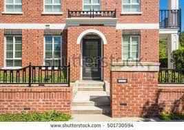Brand New Apartment Building On Sunny Stock Photo