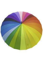 <b>Зонт</b>-<b>трость женский</b>, <b>радуга</b>, полуавтомат LiAl 12415551 в ...