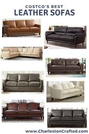 costco s best leather couches