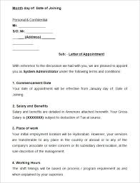 How To Write Appointment Letter How To Write An Appointment Letter 3 New Company Driver