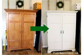 Hutch Kitchen Furniture Painted Kitchen Hutch Find It Make It Love It