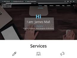 Web Designer Mall James Mall Design Website By James Mall Design On Dribbble
