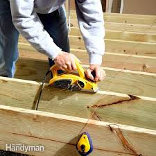 Trex Span Chart Trex Decking Installation Complete Guide Family Handyman