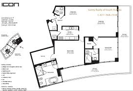 Icon Miami South Beach Condo  One Sothebyu0027s International RealtyIcon Floor Plans