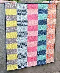 Lap Quilt Patterns Gorgeous Baby Quilt Pattern Lap Quilt Pattern Jumbo Rails Baby Quilt