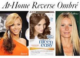 how to diy reverse ombré hair color it