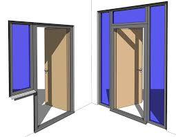 this all in one revit door family is not just a normal single or double door but can also be adjusted to have special frames the transom window is one of