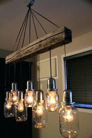 ball jar chandelier light fixtures fixture mason lamp kit