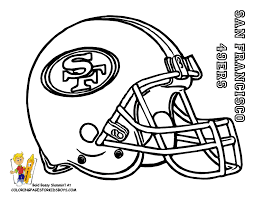 49ers coloring pages