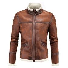 Discount Designer Mens Leather Jackets Us 76 0 Men Leather Jackets Pu Leather Jaqueta Masculinas Inverno Couro Coat Men Jaquetas De Couro Mens Winter Leather Jacket In Faux Leather Coats