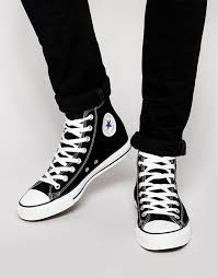 converse all star hi plimsolls black men converse high tops leather converse chuck taylor ox largest fashion