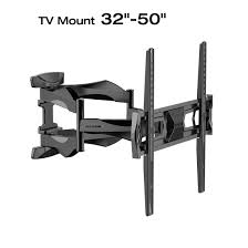 loctek l6 full motion wall mount bracket articulating for 32 50 inches tv