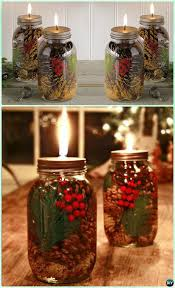 holiday scented mason jar oil candle instruction diy mason jar lighting craft ideas