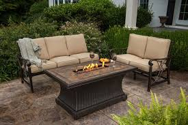 cozy propane fire pit table