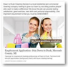 Cleaning Company Jobs Using Social Media To Recruit Employees For Your Cleaning Business