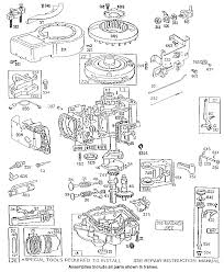 briggs stratton model 286707 0122 01 engine genuine parts 5 HP Briggs and Stratton Engine Diagram Briggs And Stratton 12 5 Hp Engine Wiring Diagram #19