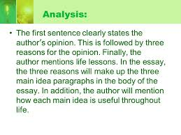 introduction how to write introduction effectively ppt  4 analysis