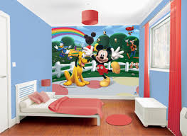 Mickey Mouse Bedroom Wallpaper Which Is The Best Wallpaper Mural For Your Child Walltastic
