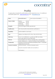 Blank Cv Template Uk Blank Forms Resume Template Fill In. Each ...