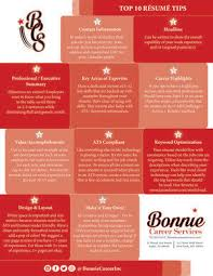 Top 10 Resume Tips Bonnie Career Services Inc