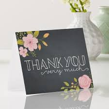 Thank You Notes Thank You Cards Wedding Thank You Cards Vistaprint