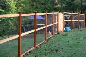 chicken wire garden fence. Chicken Wire Fence The Three Rail Welded Keeps Predators Out And Chickens Safely Inside Garden