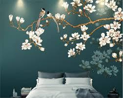 beibehang Custom interior <b>decoration wallpaper hand painted</b> new ...
