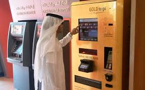 Gold To Go Vending Machine Unique Al Hilal Bank Unveils Gold Vending Machine Emirates4848