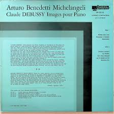 Arturo Benedetti Michelangeli Debussy Images Piano 1964-69 Live LP NM  GoldenTime